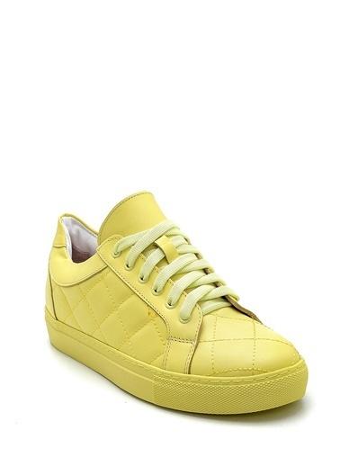 Derimod Kadın Ayakkabı (20704) Spor Sarı